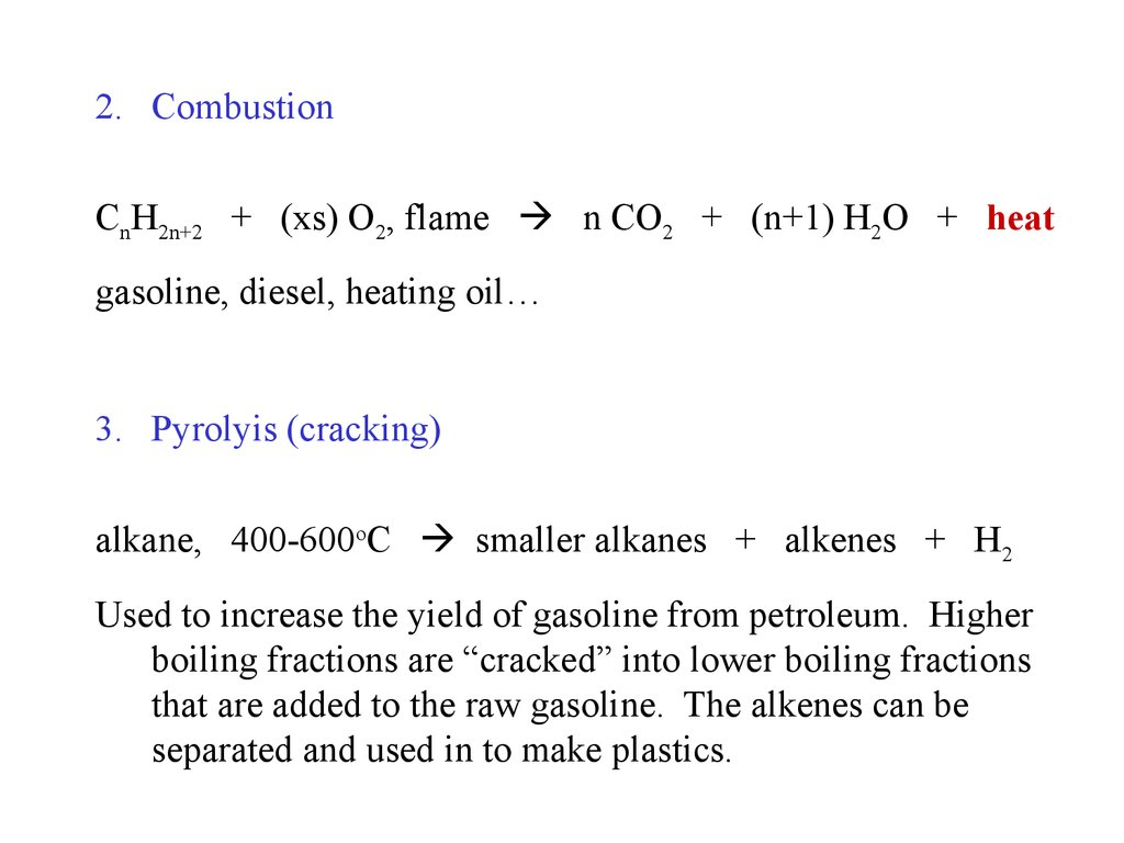 Alkanes A Family Of Hydrocarbons