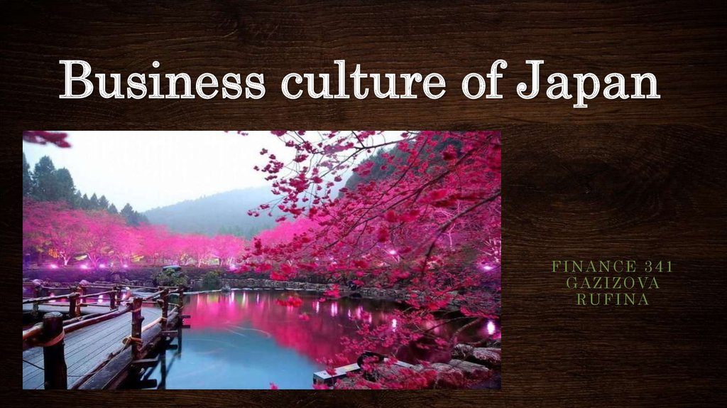 Business Culture Of Japan презентация онлайн