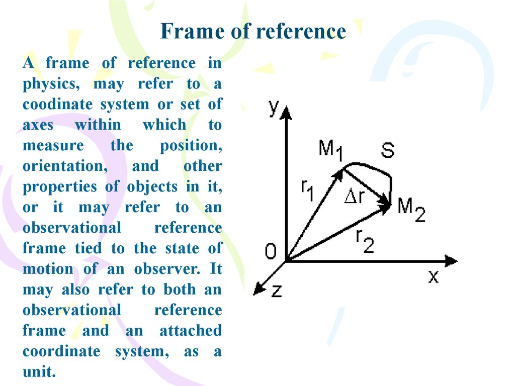 Physics And Measurement Vectors Course Of Lectures