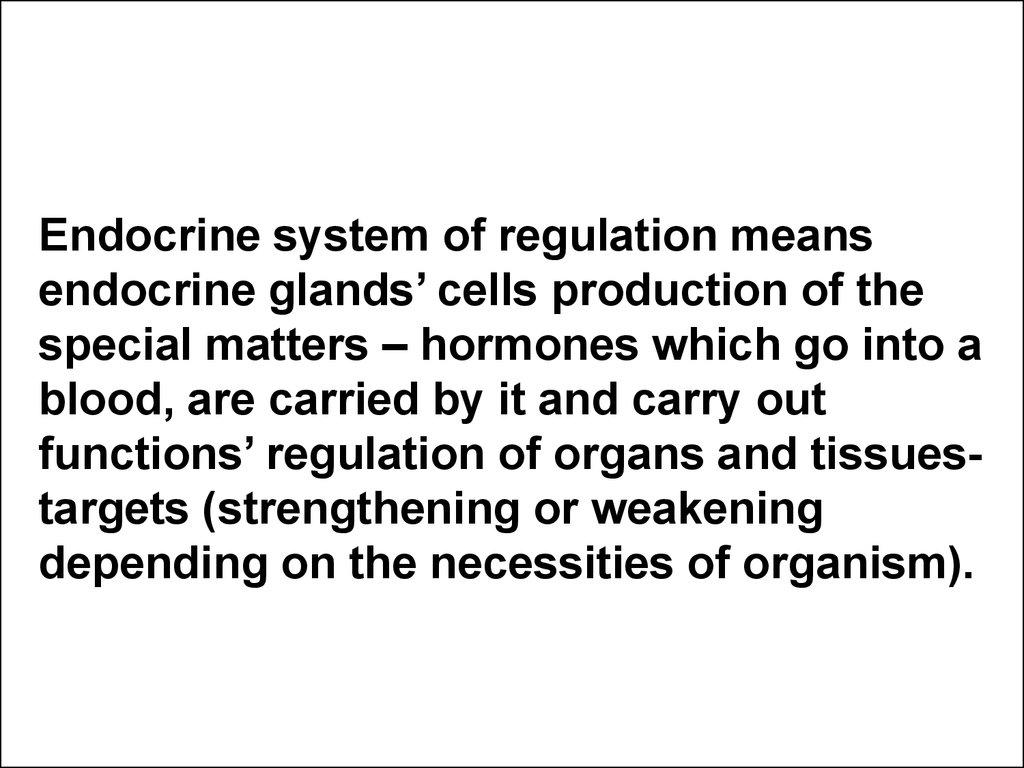 Endocrine System In Children