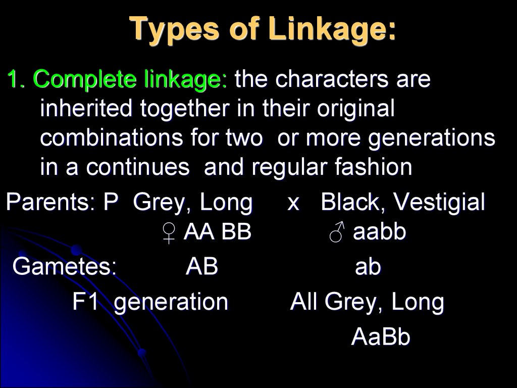 Linkage And Gene Maps Determination