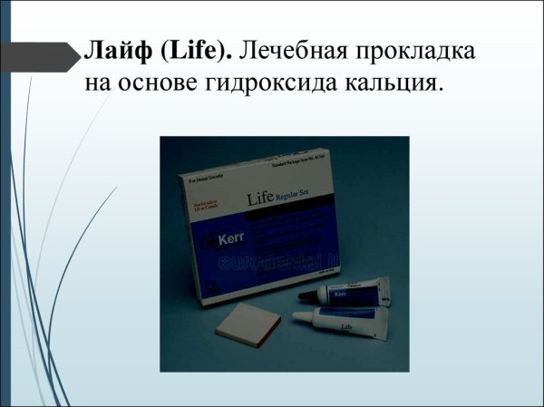 Лечебные и изолирующие прокладки презентация онлайн