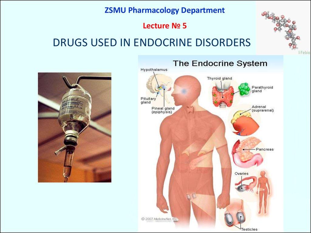 Drugs Used In Endocrine Disorders