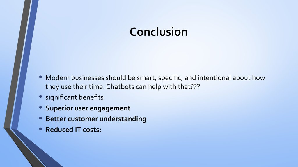 It Advancements In Finance Chat Bot Banking презентация