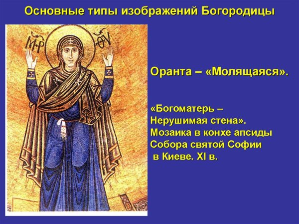 Средневековая русская иконопись - online presentation