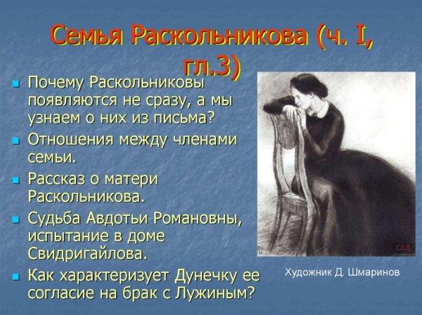 Мир «униженных и оскорбленных» в романе Ф.М. Достоевского ...