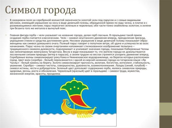Город Набережные Челны - презентация онлайн
