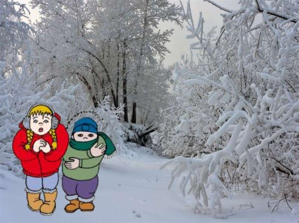 Составление рассказа о зиме по опорным картинкам. Развитие ...