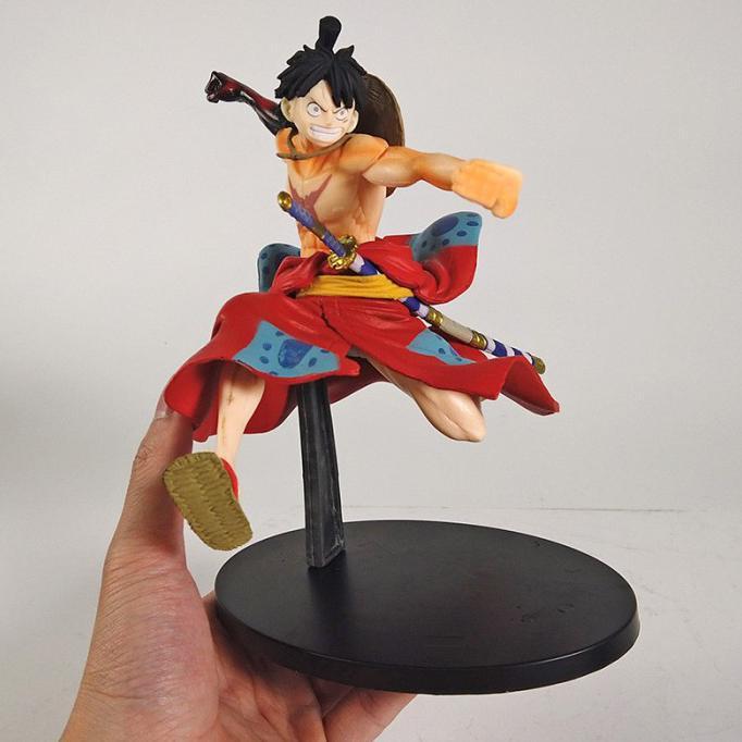 Action figure resin statue 16 one piece monkey d luffy gear 3 wano. Harga Figure One Piece Wano Terbaru Mei 2021 Biggo Indonesia