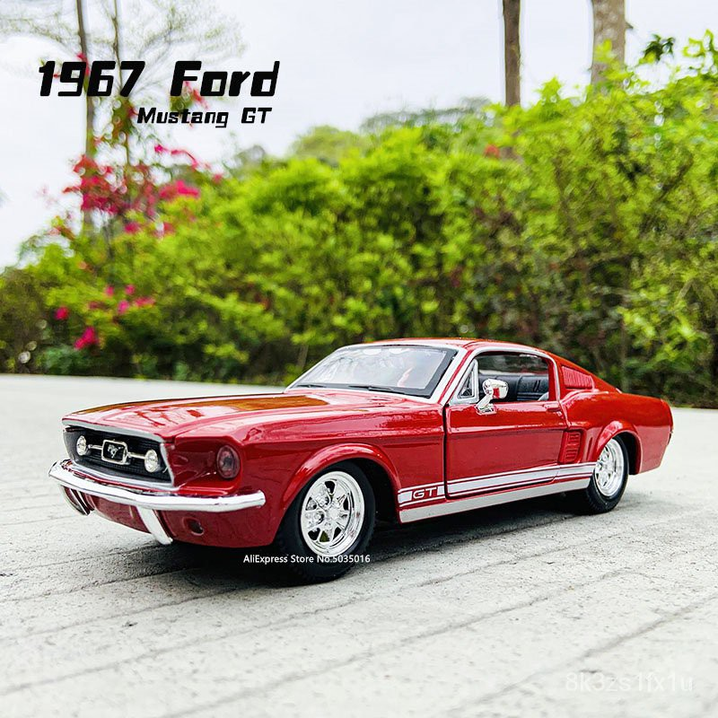 Your information will be collect. Maisto 1 24 Ford 1967 Mustang Gt Red Simulation Alloy Car Model Die Cast Craft Decoration Collection Shopee Indonesia