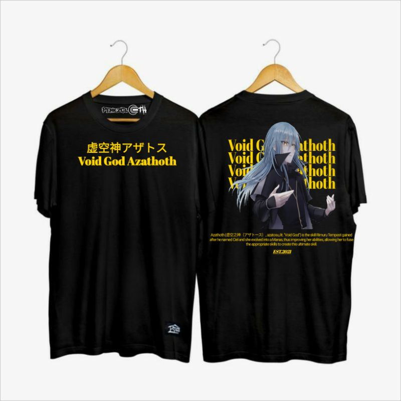 Rimuru's main ultimate skill that's created as a result of synthesizing wisdom lord raphael, gluttony king beelzebub, storm king veldora, and scorch king velgrynd. Penkzcloth T Shirt Rimuru Tempest Shopee Indonesia