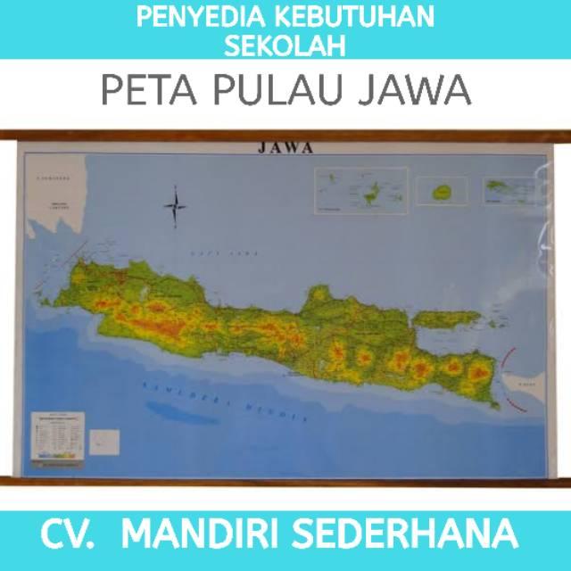 Buat tanda yang membelah kotak menjadi dua secara vertikal dan horizontal. Peta Pulau Jawa Edisi Gantungan Peta Pulau Jawa Peta Pulau Jawa Peta Murah Shopee Indonesia