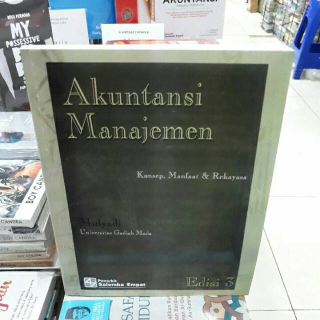 Informasi untuk pengambilan keputusan strategis / rudianto. Promo Buku Akuntansi Manajemen Mulyadi Edisi 3 Shopee