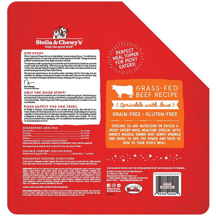 Being a coeliac, having gluten intolerance or allergies and the need for a. Stella Chewy S Marie S Magical Dinner Dust Dog Meal Topper Beef Shopee Indonesia
