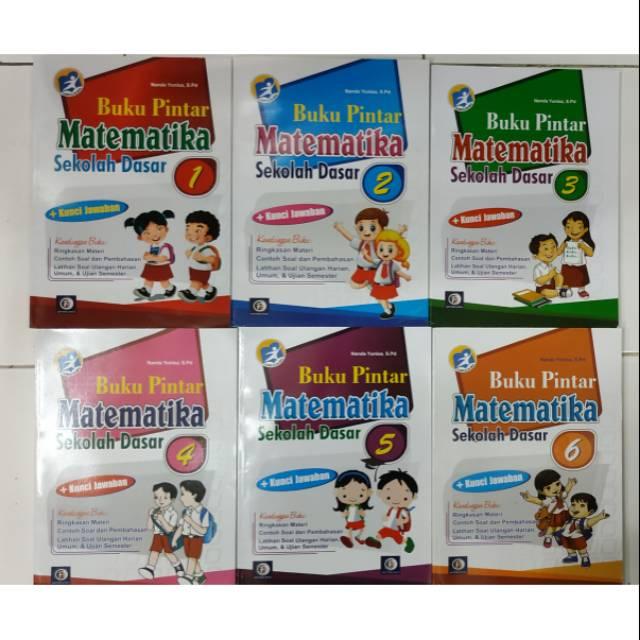 Kumpulan soal matematika kelas 2 sd semester 1 tahun 2019 lengkap beserta kunci jawabannya yang bisa anda gunakan untuk melatih para siswa. Buku Pintar Matematika Kelas 1 2 3 4 5 6 Sekolah Dasar Sd Shopee Indonesia