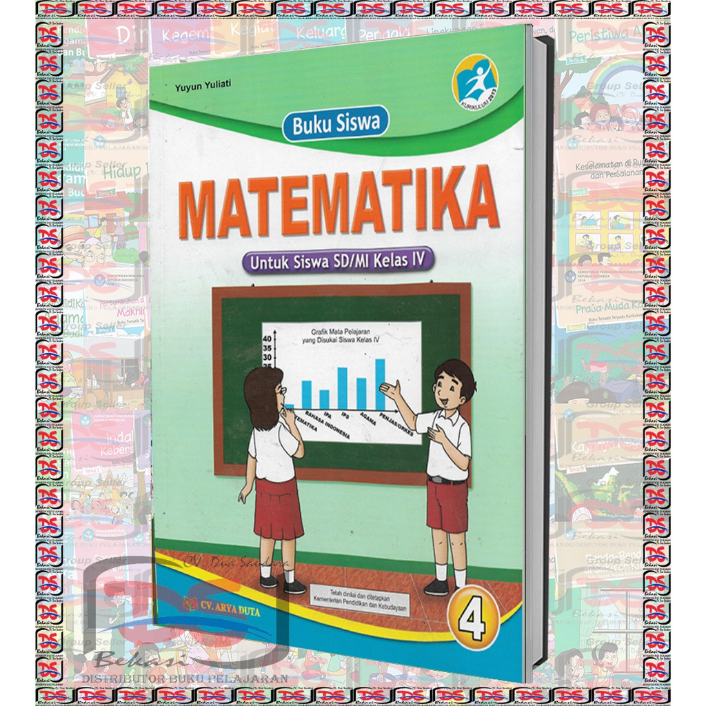 These books contain exercises and tutorials to improve your practical skills, at all levels! Buku Matematika Kelas 4 Sd Kurikulum 2013 Shopee Indonesia