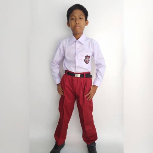 Kamu juga bisa cari pacar yang anak sd cantik cewek dekat umur 12 tahun kelas 6 sd jomblo. Seragam Sekolah Merah Putih Anak Laki Laki Sd Kelas 1 6 Seragam Merah Putih Sd Seragam Sekolah Sd Shopee Indonesia