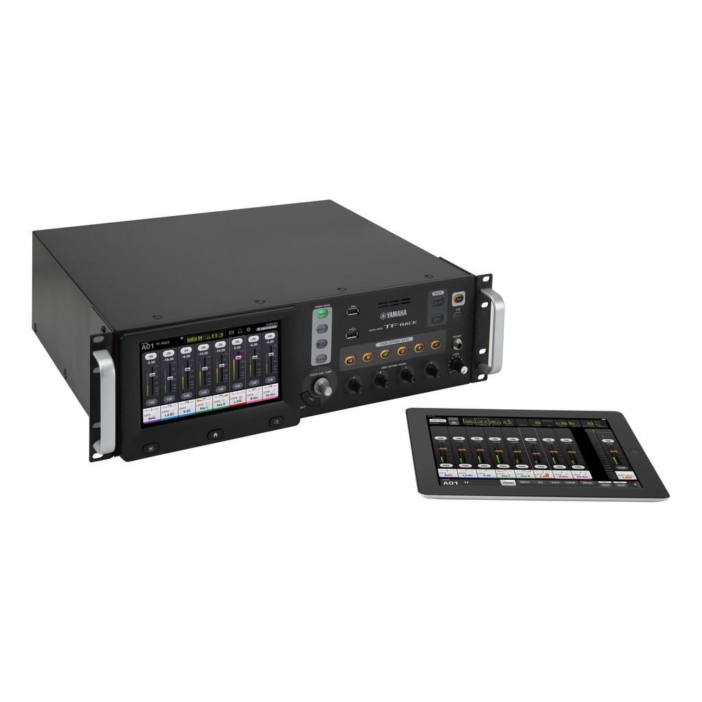 yamaha tf rack compact rack mount digital audio mixer