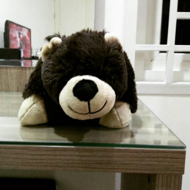 pillow pets dream lites plush night light bear 11