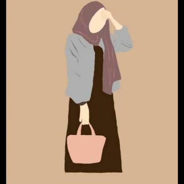 50+ gambar foto profil keren. Foto Profil Aesthetic Hijab Kartun
