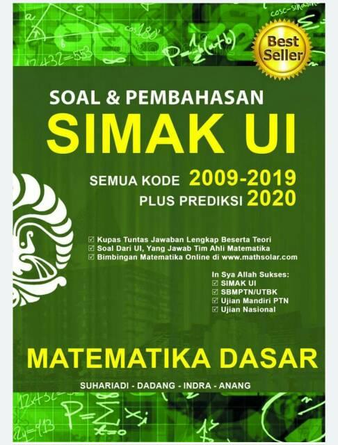 Hasil perkalian semua bilangan yang memenuhi 3√x=21+3√x adalah …. Buku Matematika Dasar Simak Ui Soal Dan Pembahasan Shopee Indonesia