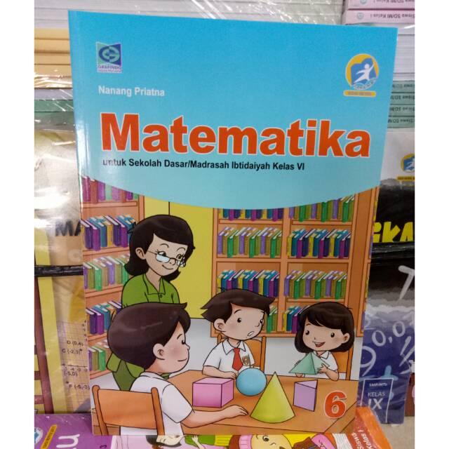 Kunci jawaban ini dibuat untuk membantu mengerjakan soal matematika bagi. Buku Matematika Kelas 6 Penerbit Grafindo Edisi Revisi Nanang Priyatna Original Shopee Indonesia