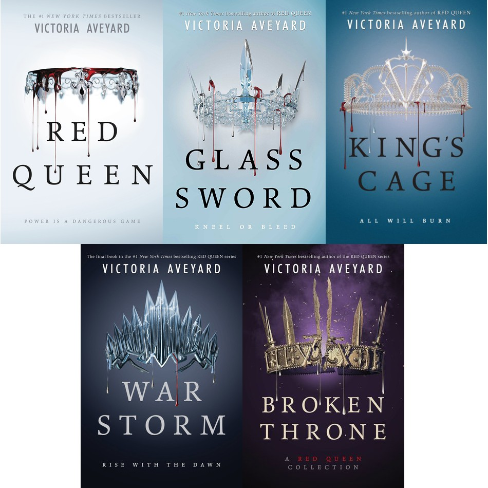 Image result for the red queen series