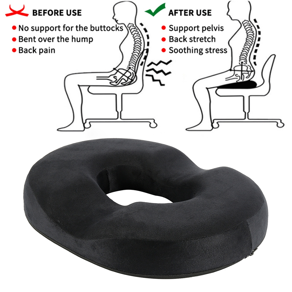 donut cushion for pressure relief pregnancy post natal sitting pillows