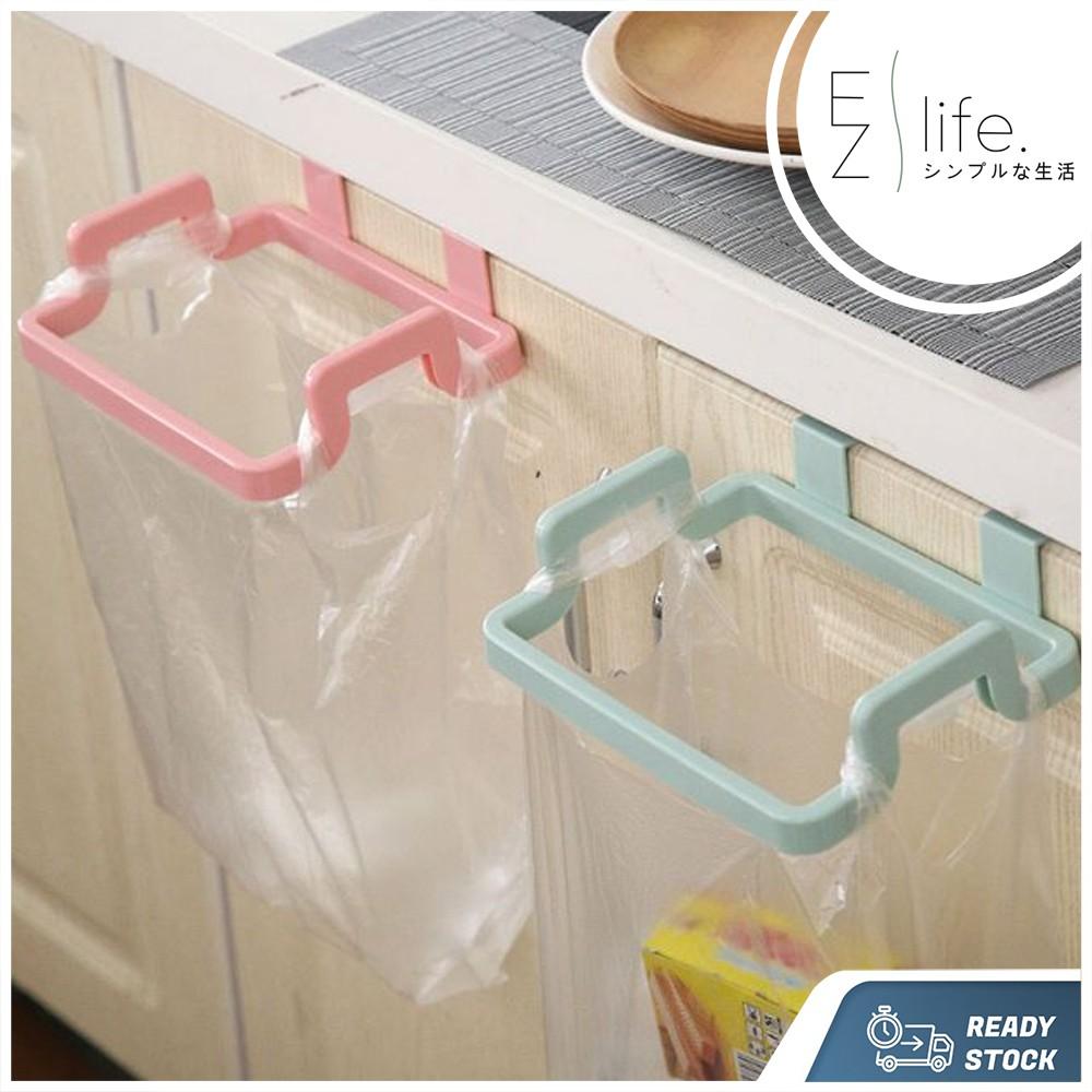 portable kitchen cabinet hanging garbage bag holder stand rack cabinet hanging organizer tool plastic trash bag holder