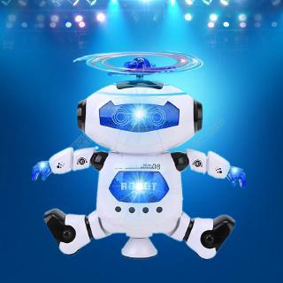 電動跳舞機器人兒童旋轉會唱歌小男孩子1-2-3-4歲女寶寶禮物玩具   Shopee Malaysia