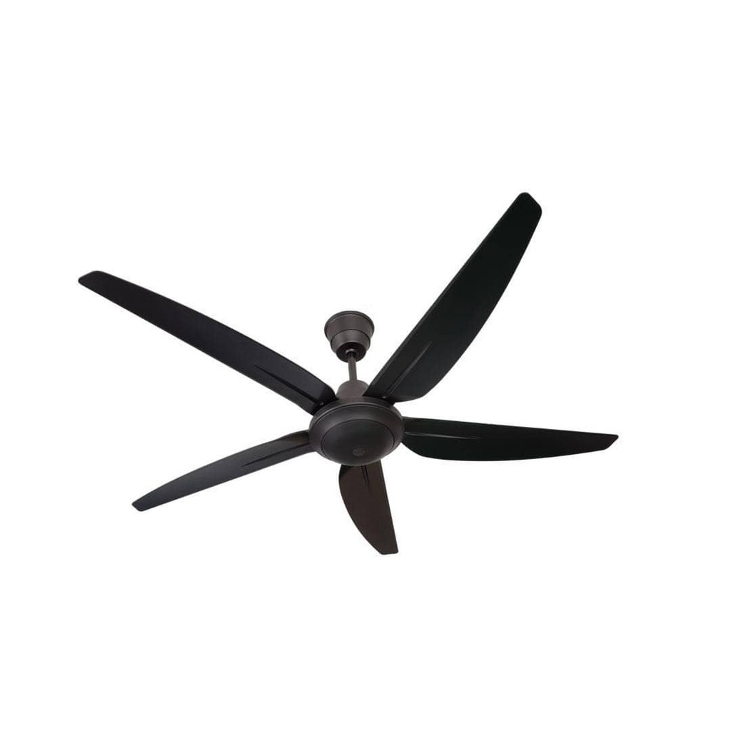 New Rezo Ventus My56 Abs 5 Speed Remote Control Ceiling Fan Black Shopee Malaysia