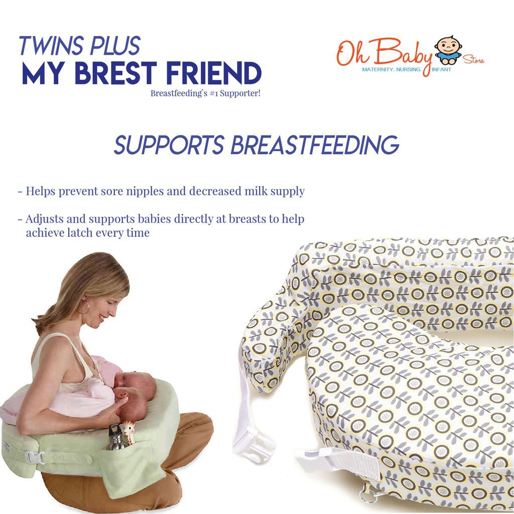 my brest friend nursing pillow twins plus