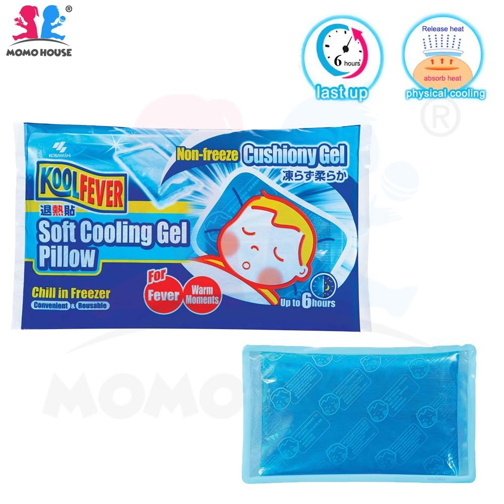 kool fever soft cooling gel pillow non freeze cushiony gel