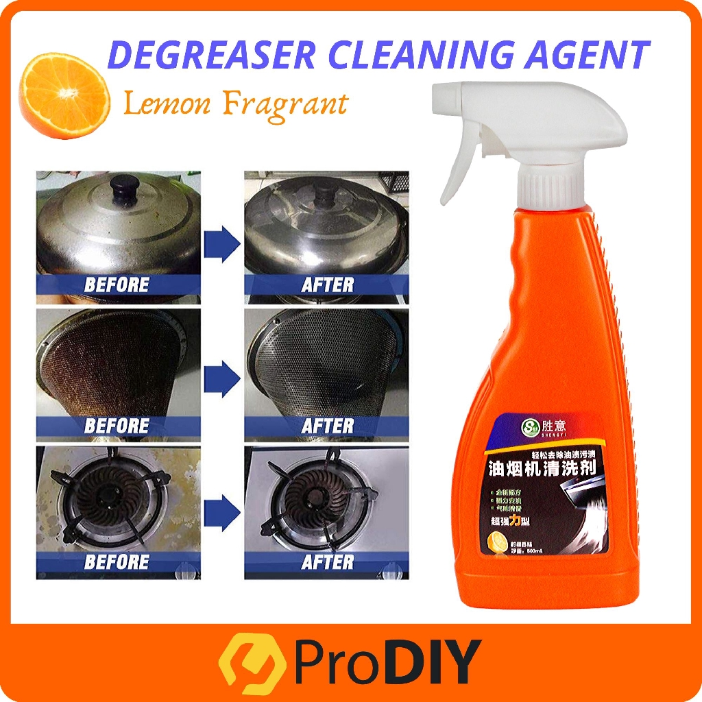 cooking grease spray kitchen degreasing hood cleaner quick acting cleaning agent removes the toughest dirt for kitchen