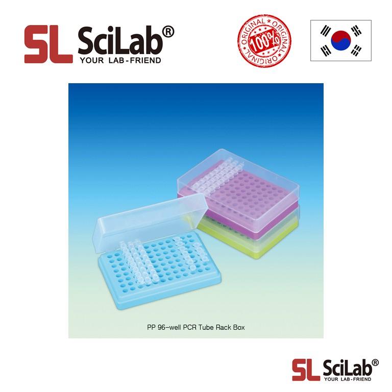 scilab pp 96 well pcr tube rack box