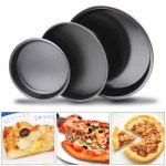Bakeware Ovenware 6 7 5 11 Non Stick Pizza Tray Carbon Steel Baking Round Oven Tray Pizza Pan Home Furniture Diy Tohoku Morinagamilk Co Jp