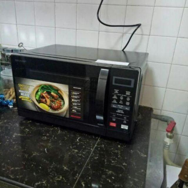 sharp 20l microwave oven digital r207ek