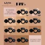 Nyx Professional Makeuup Total Control Cushion Foundation Shopee Malaysia