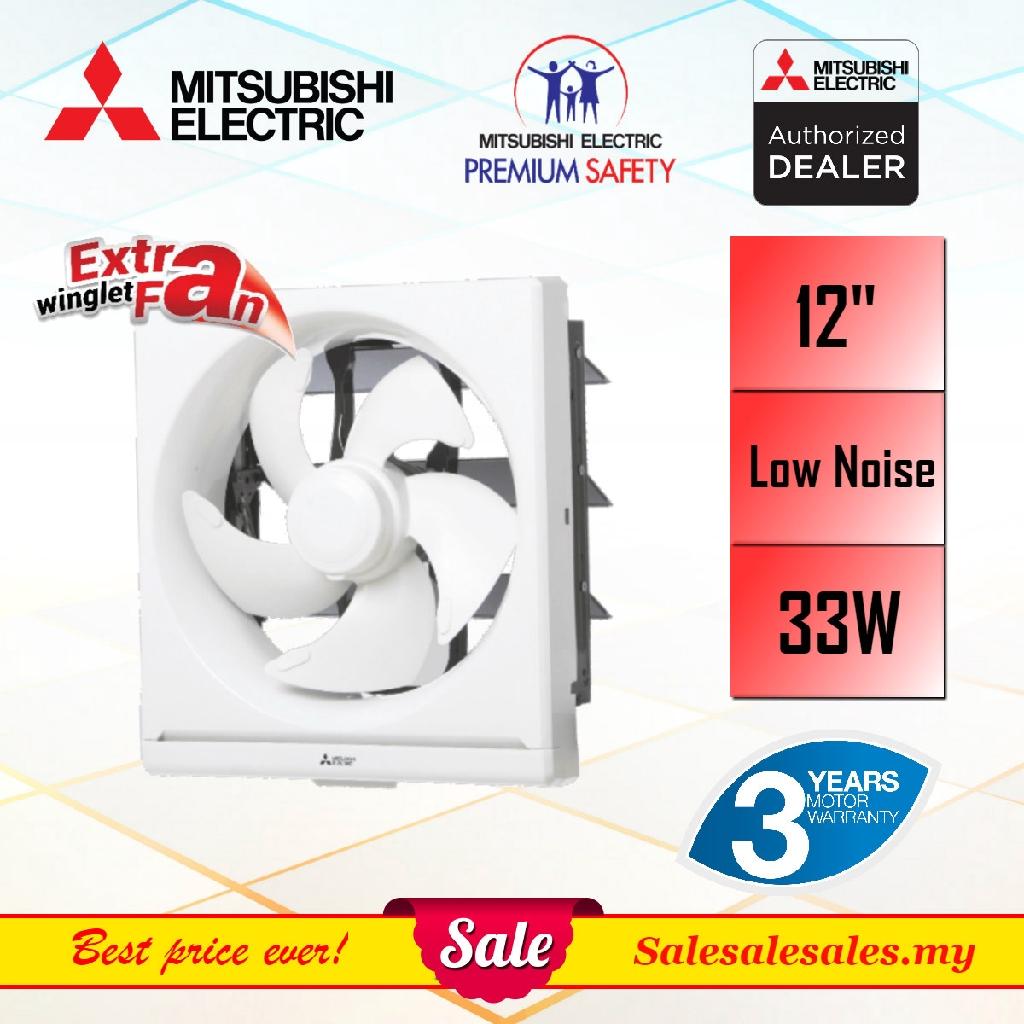 mitsubishi 8 10 12 wall type ventilation exhaust fan 3year warranty