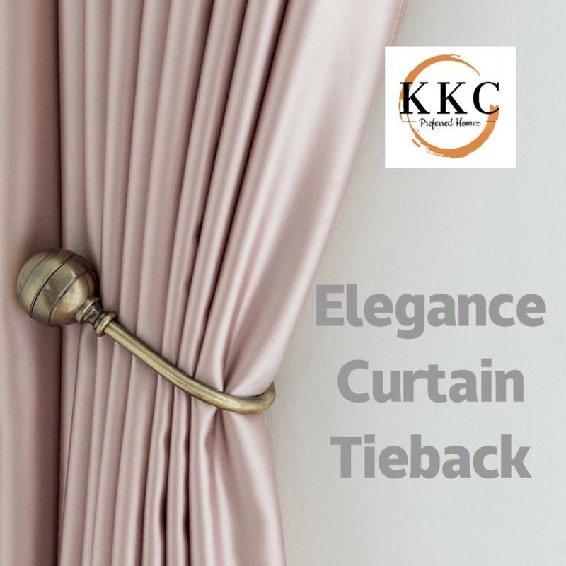 kkc curtain tieback hooks window blind tiebacks hanger holder 1 pair 2pc