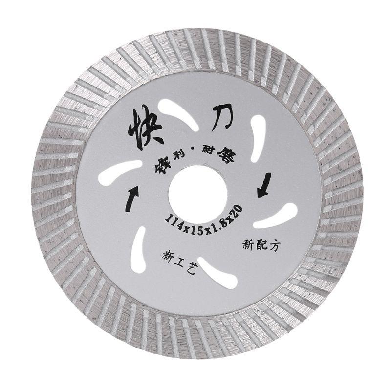 boom 105mm 4inch ultrathin diamond turbo circular saw blade ceramic tile cutter disc cutting tool