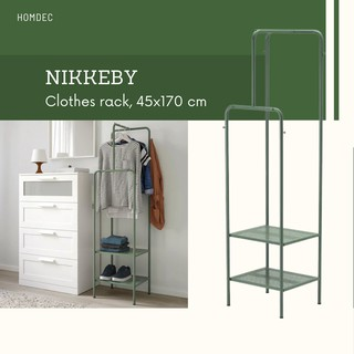 ikea nikkeby clothes rack red 80x170 cm 100 genuine