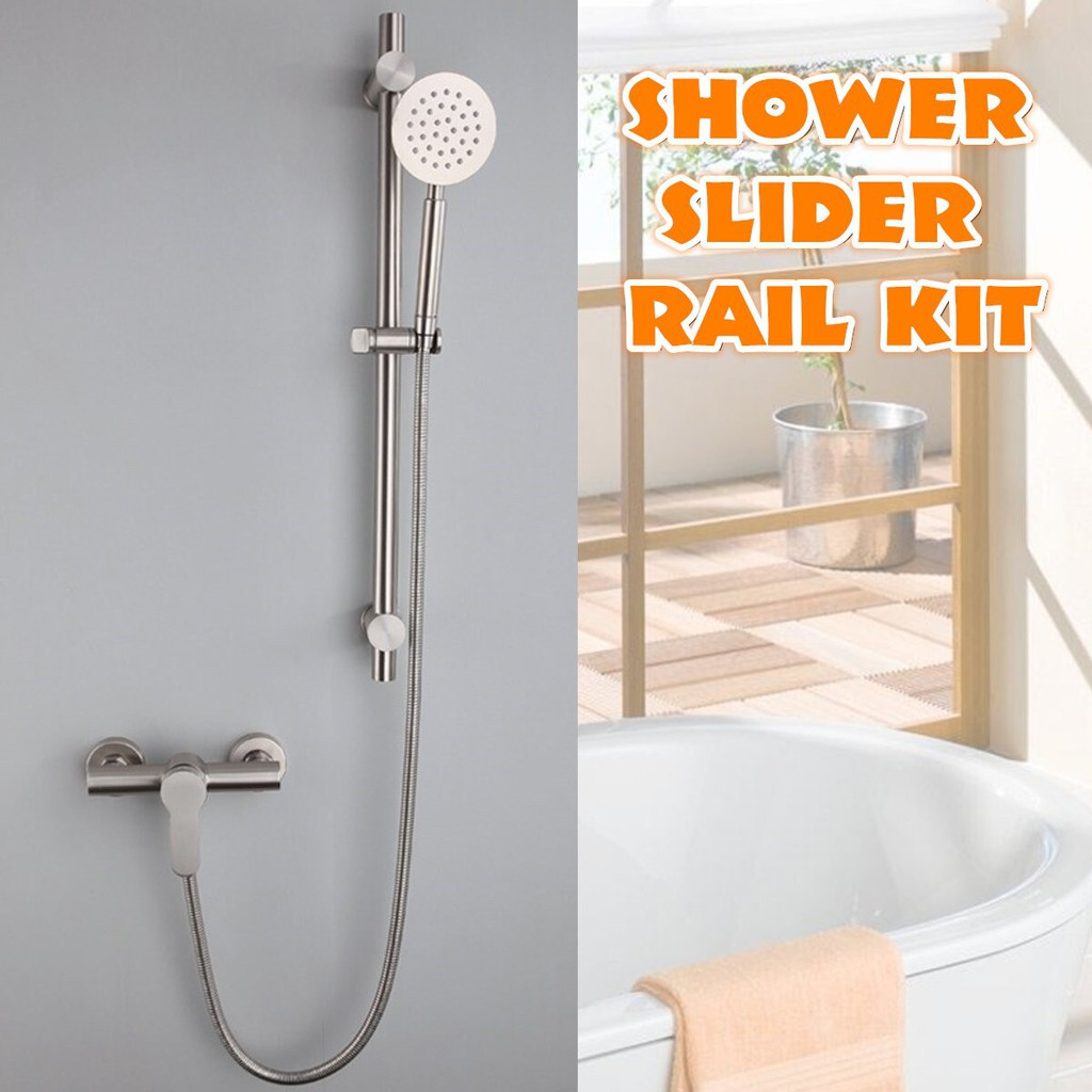 bath shower faucets set bathtub faucet hot and cold water mixer crane tap with hand shower stainless steel bathroom faucets kit