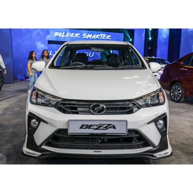 6) dalam pada masa yang sama, produa malaysia ada menawarkan kemasan lightning gear up di beberapa spot dalam kereta ini. Perodua bezza 2019 2020 2021 gear up GU bodykit body kit front side rear skirt lip diffuser ...