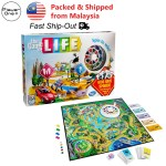 The Game Of Life Spinning Wheel Board Game Kids Family Fun Party Games English Version Shopee Malaysia