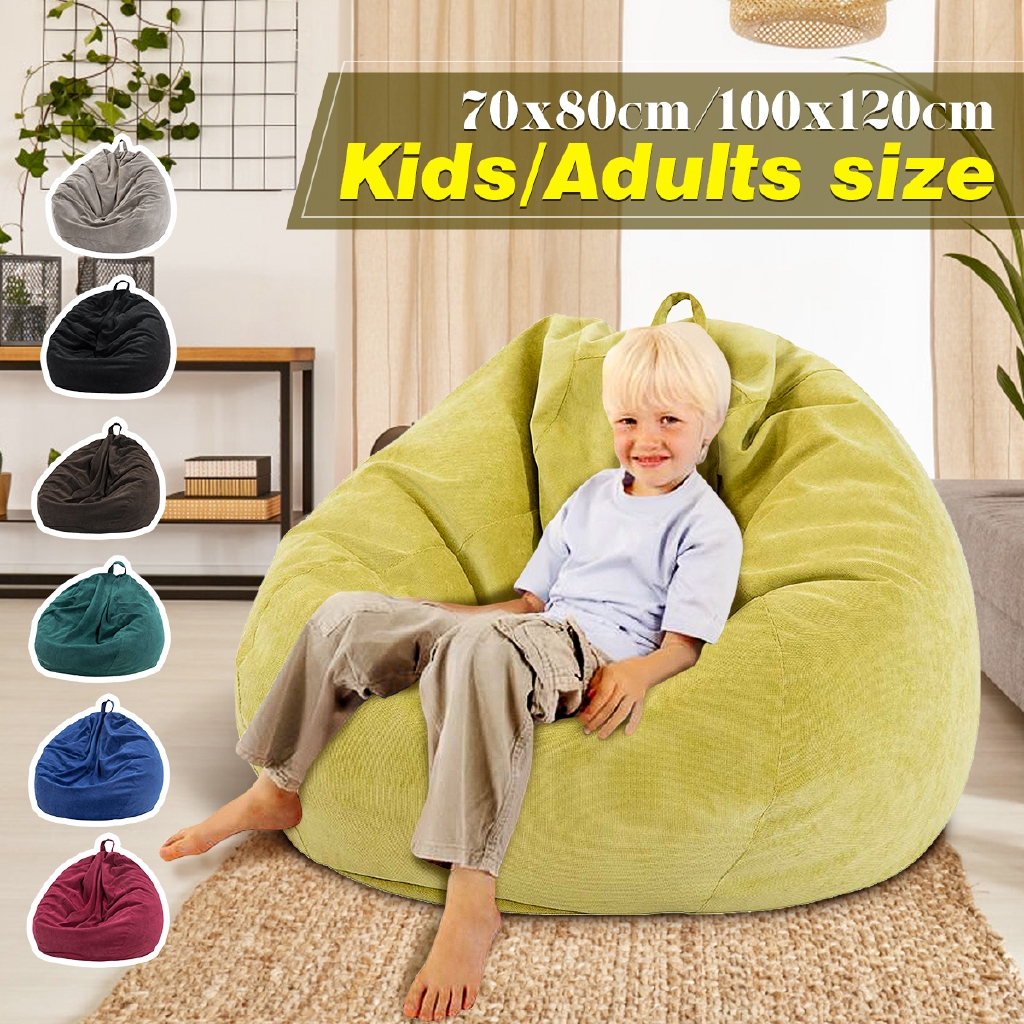 xxl fur bean bag chair cover large gamer gaming chair adults kids beanbag seat