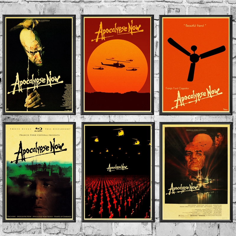 apocalypse now posters movie retro poster prints high quality wall stickers for living room home decoration