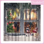Predolo2 100x140cm Christmas Curtains Window Waterproof Xmas Snowman 2panels Drapes Shopee Philippines