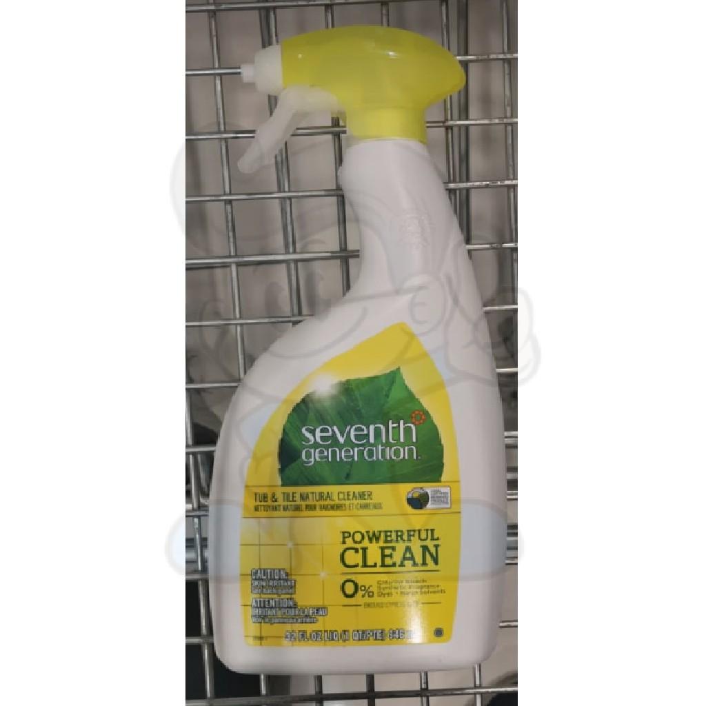 seventh generation tub tile natural cleaner 946 ml