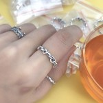 Pan Knotted Hearts Band Ring Gold 925 Silver Heart Shopee Philippines